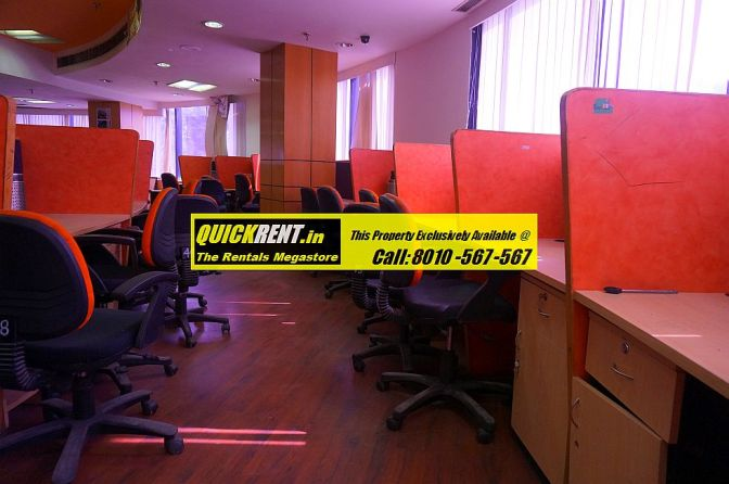 Furnished Office Space near Metro Station